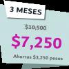 3 Meses 7250